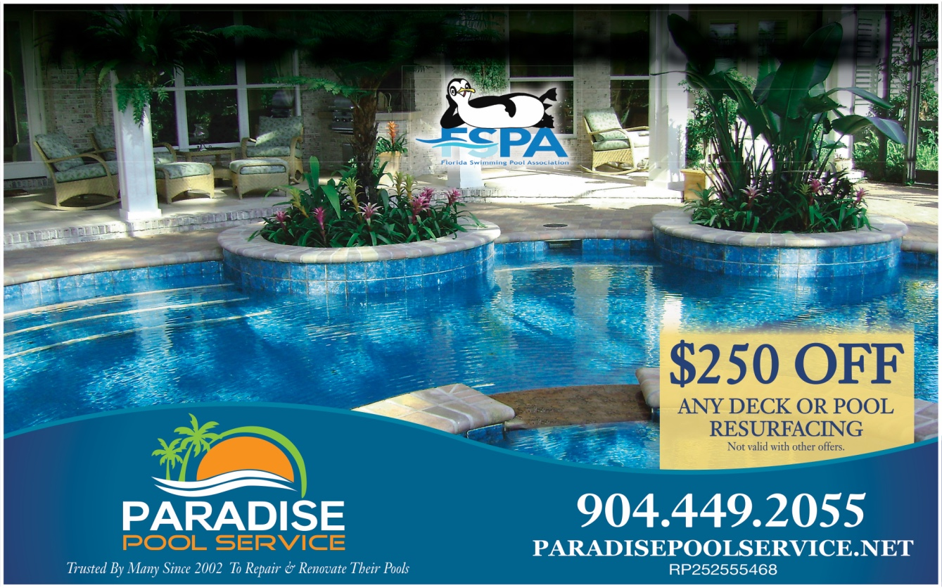 Our Offers Paradise Pool Service